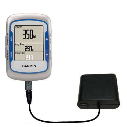 AA Battery Pack Charger compatible with the Garmin EDGE 500