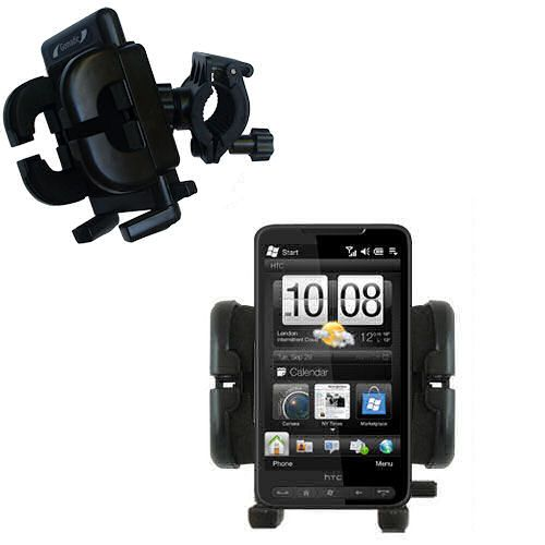 Handlebar Holder compatible with the HTC HD2