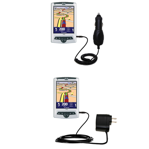 Car & Home Charger Kit compatible with the TomTom Navigator 5