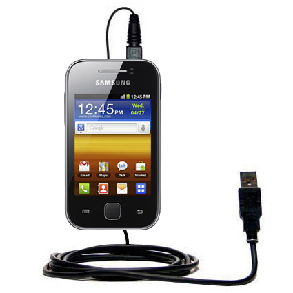 USB Cable compatible with the Samsung Galaxy Y