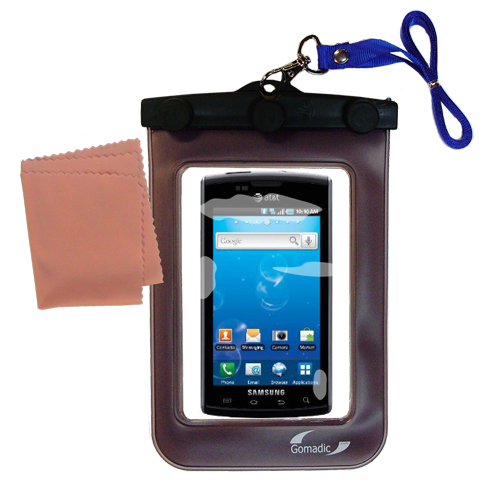 Waterproof Case compatible with the Samsung Captivate to use underwater