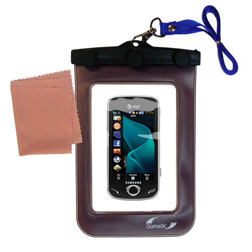 Waterproof Case compatible with the Samsung Mythic to use underwater